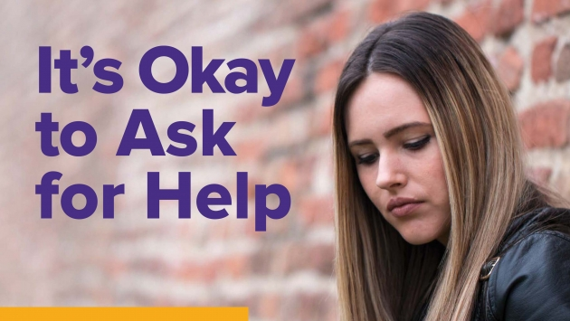 It's OK to ask for Help, pregnancy and treatment flyer